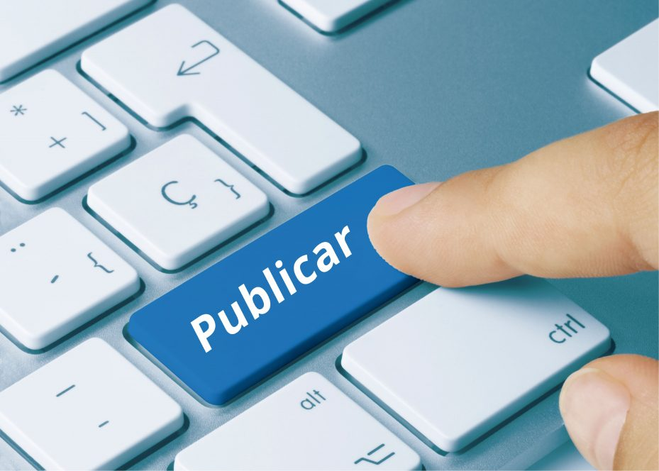 Blog odontologia botão publicar