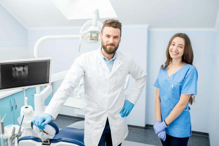 Equipe de dentista