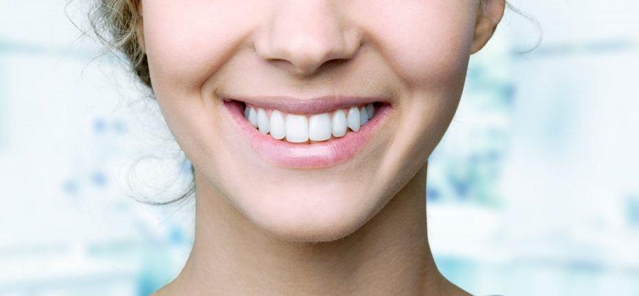 sorriso da especialização da odontologia estética