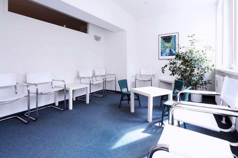 Decoração de consultório odontológico, sala de espera